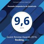 Prêmio Booking.com nota 9,6